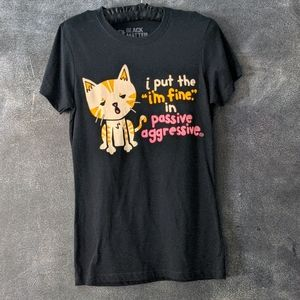 GOODIE TWO SLEEVES | Cat Lover Graphic Tshirt